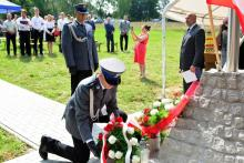 Policjanci uczcili pamięć bohatera