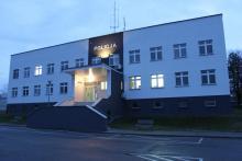 Budynek brzeskiej jednostki Policji zyskał nowy wygląd