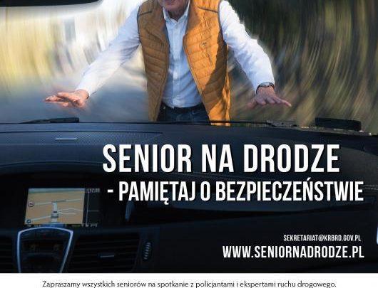 Senior na drodze – pamiętaj o bezpieczeństwie!