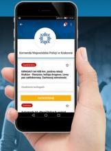 """Małopolska policja rozpoczęła nadawanie w ogólnopolskiej aplikacji """"BLISKO"""""""