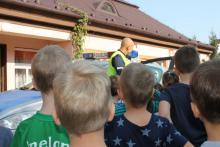 Bezpieczna droga do szkoły z brzeskimi policjantami