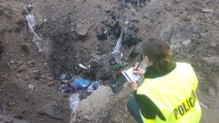Wspólnie zadbajmy o środowisko. Nie dopuśćmy do nielegalnego składowania i przewożenia niebezpiecznych odpadów.
