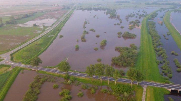 Działania powodziowe maj 2019 na terenie powiatu brzeskiego
