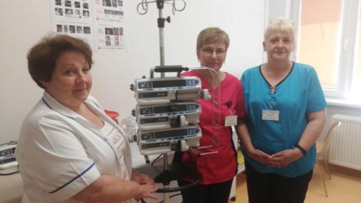 BRZESKO: PULSOKSYMETRY I POMPY INFUZYJNE OD WOŚP